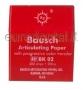 BK02 ROSSA CARTA D'ARTICOLAZIONE BAUSH - 300 strisce