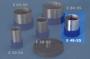 CILINDRO INOX 3X - 48x55 mm - 1 pz