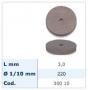 RUOTINE ROSSE PER ORO ⌀ 22 mm - 100 pz